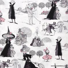 The Ghastlies Fabric Alexander Henry Fabrics