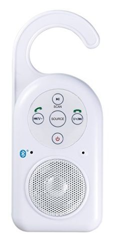 The #Craig Shower Radio features Bluetooth Wireless Technology that easily connects to your smartphone or other Bluetooth wireless technology enabled audio devic...