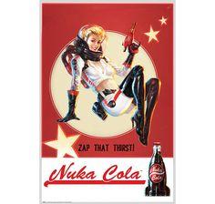 Fallout 4 Poster Nuka Cola