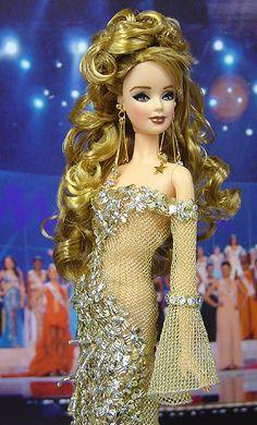 Miss Belarus Barbie Doll 2006