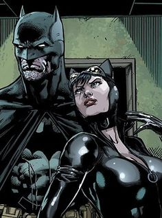 Illustration art batman comics fan art dc comics Cat Woman