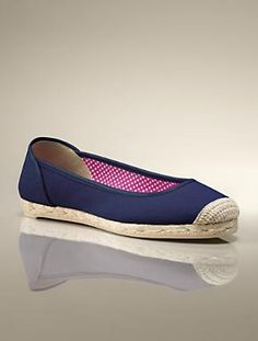 Palma Cotton Canvas Flat.  I'll take in every color, please!