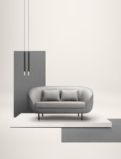 Fredericia sofa Haiku Low by GamFratesi. Haiku is an eye-catching and inviting design statement for hotel lobbies, executive offices and private homes. The modern contemporary design partners well with both high-tech and classical interiors.