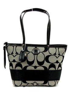 New Coach Signature Tote Bag Purse, starting at $1.