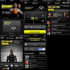 Nike Boom interface