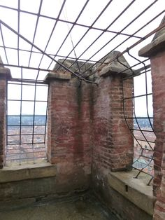 """Panorama, """"Torre degli Asinelli"""" Bologna Italia (Marzo)"""
