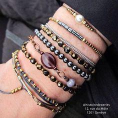 Costume Jewelry, Jewelry Accessories, Beaded Bracelets, Detail, Fashion, Moda, Jewelry Findings, Fashion Styles, Pearl Bracelets