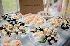 Food corners en tu boda | Sweet Bodas