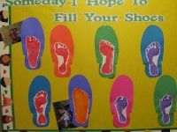 Fill-Your-Shoes...Father's Day Craft and more bulletin board/craft ideas