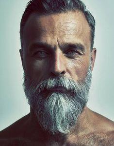 Long Beard Styles, Hair And Beard Styles, Long Hair Styles, Beard Styles For Men Over 50, Best Beard Styles, Grey Beards, Long Beards, Pelo Hipster, Bart Styles