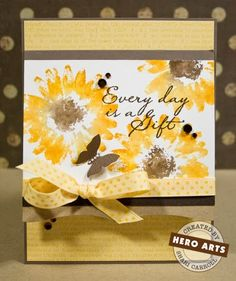 my world: Sunflower card