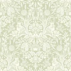 Shop for Holden Decor Damask Harlen Woodland Sage Green Wallpaper at wilko - where we offer a range of home and leisure goods at great prices. Tier Wallpaper, Feature Wallpaper, Wall Wallpaper, Pattern Wallpaper, Bedroom Wallpaper, Wallpaper Lounge, Grey Damask Wallpaper, Funky Wallpaper, Wallpaper Paste