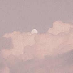 Clouds and the Moon. Pale Aesthetic, Aesthetic Themes, Aesthetic Photo, Aesthetic Anime, Aesthetic Pictures, Angel Aesthetic, Different Aesthetics, Grunge, Cool Drawings