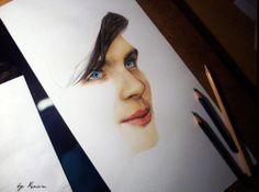 Pencil art by Natasha Kinaru