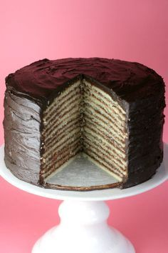 Every Southern girl should know how to make this cake. I have always loved these and never knew how to make it.