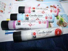 Marabu Candle-Liner http://marabu.com/k/cl #Marabu #CandleLiner