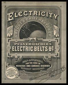 Pulvermacher Galvanic Company / Pulvermacher's Electric Belts | Sheaff : ephemera