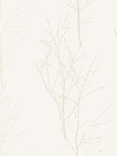 £24 per roll White Birch Wallpaper - John Lewis.