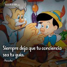 Frases Disney, Disney Quotes, Walt Disney Movies, Disney Pixar, Walt Disney Animation Studios, Motivational Phrases, Disney Shirts, Animation Film, The Simpsons