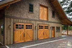 really nice wood carriage house doors! https://www.facebook.com/subcon.door