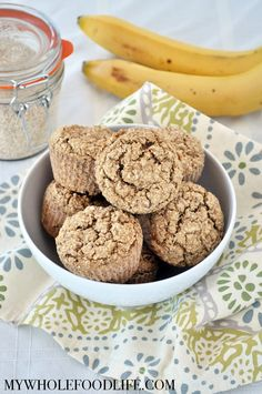 Oat Bran Muffins - My Whole Food Life