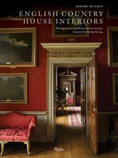 English Country House Interiors - love English style decorating books! #Indigo  #MagicalHoliday