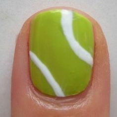 One nail to rule them all tenniswimbledon nail art for avon tennis nail art prinsesfo Choice Image