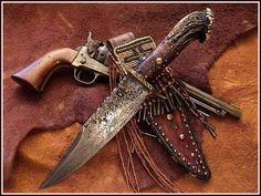 CactusRose ... Knife 'n Sheath ...