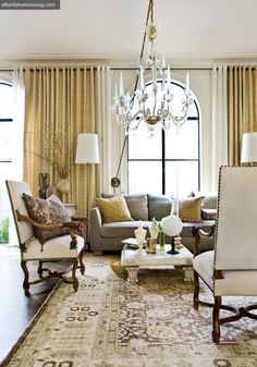Living Room, Barry Dixon. Atlanta Homes & Lifestyles