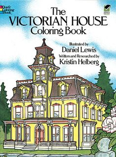 The Victorian House Coloring Book by Dover Publications ($4.99) -- one of my favorite coloring books, both as a child and as an adult!