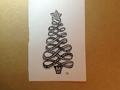 Zentangle Christmas Tree