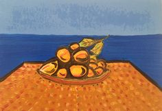 Lemons. Oil on Paper  #contemporaryart #art #lemons #artgallery