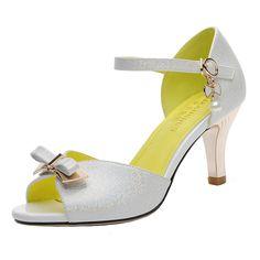 9ed65cc57 LAIKAJINDUN Women s Bowknot Pump Ankle Strap D Orsay  gt  gt  gt  Special