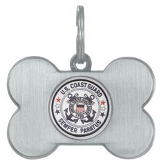 United States Coast Guard Pet Name Tags - The United States Coast Guard (USCG) is a branch of the United States Armed Forces and one of the country's seven uniformed services. The Coast Guard is a maritime, military, multi-mission service unique among the U.S. military branches