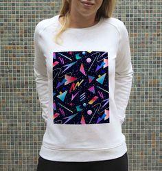 b19eaef5899f Sweat Femme Motifs 80s - Sweat-shirt Motifs Années 80