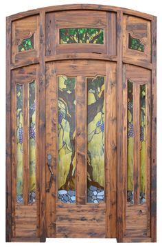 craftsman arts/crafts doors - Original Jules Lavirotte Design