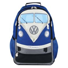 Uniquely designed backpacks, contain a laptop compartment, padded breathable back panel and many more quality features which assure convenience, perfect fit and a great look. Distributed by Enesco VW Official Licensed Product, ©2015 Enesco Ltd. #VW #VWcampervan #VWnostalgia