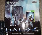 Microsoft Xbox 360 Halo 4 Limited Edition 320 GB & 17 Game Bundle - No Reserve