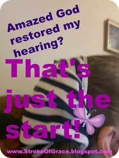 Restored Hearing Was God's Small Miracle This Month! Facebook Canvas, This Means War, Online Photo Editing, Chiropractic Care, Fruit Of The Spirit, Chronic Illness, Healthy Tips, Good To Know, Natural Health