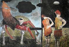 Pitsa (colour) by Colbert Mashile Horses, Artwork, Artist, Prints, Painting, Color, Work Of Art, Colour, Painting Art