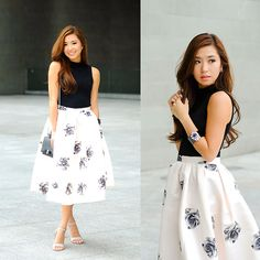 Get this look: http://lb.nu/look/6512354  More looks by Kryz Uy: http://lb.nu/kryz  Items in this look:  Sheinside Skirt, Wagw Top