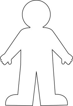 Challenger image with printable paper doll body
