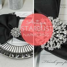 Click here for these stunning rhinestone napkin rings are more! www.totallydazzled.com These beauties are only $2.75 each!!!! WOW!