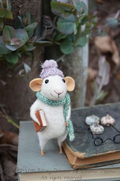 Little Mouse - Felting Dreams - READY TO SHIP