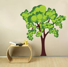 Tree Wall Decal by StudioWallDecals on Etsy