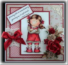 Another delightful card from Bev Rochester.