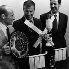 The prime crew for NASA's first manned Skylab mission meet the press in a final briefing prior to Isolation for the coming launch of Skylab II scheduled for launch no earlier than May 15, 1973 from Launch Complex 39-B, Cape Kennedy, Florida, with a Saturn I-B vehicle. The astronauts are (L. to R.) Charles Conrad Jr., Commander, Paul J. Weitz, Pilot, and Dr. Joseph P. Kerwin, Science Pilot.