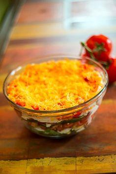 Fit & Festive Layered Salad