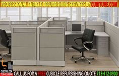 Expert Cubicle Refurbishing Services In Houston & Surrounding Areas Including Galveston, Woodlands & Conroe