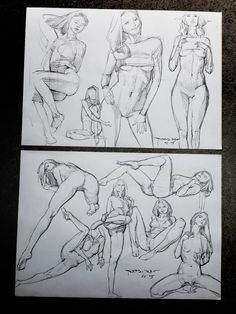 Pose Studies 2 by n00brevolution.deviantart.com on @DeviantArt